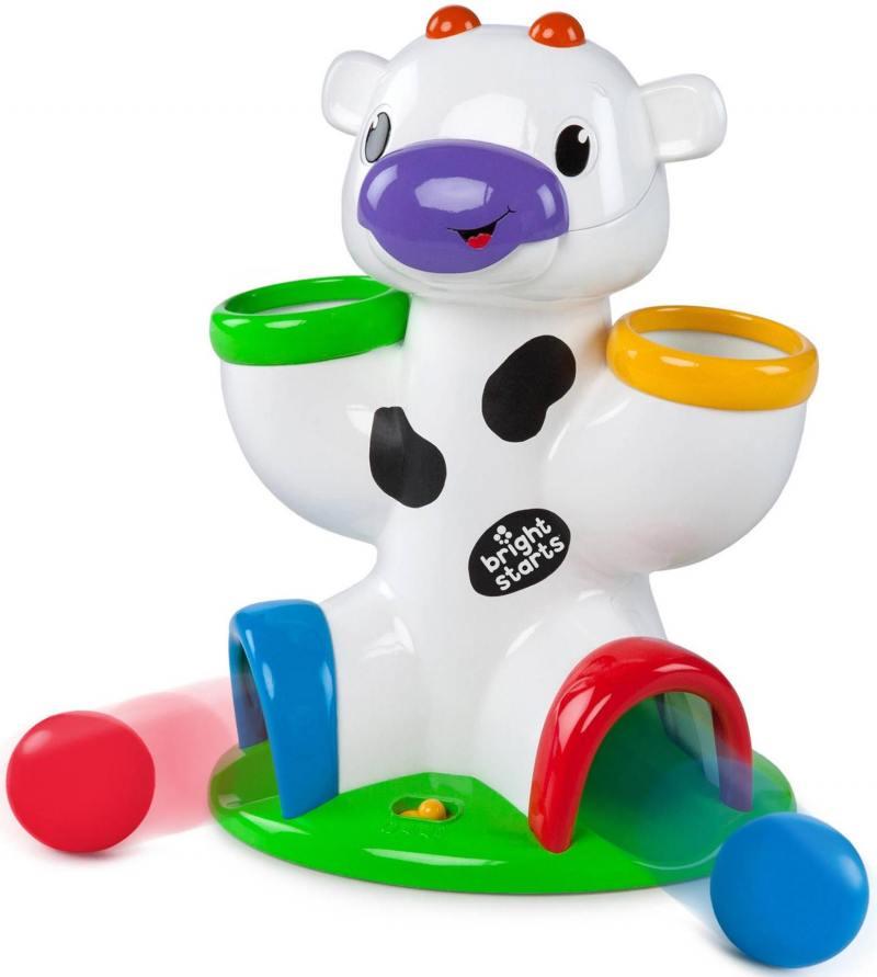 Развивающая игрушка Bright Starts «Веселая корова» развивающие игрушки bright starts развивающая игрушка bright starts птички в облачке