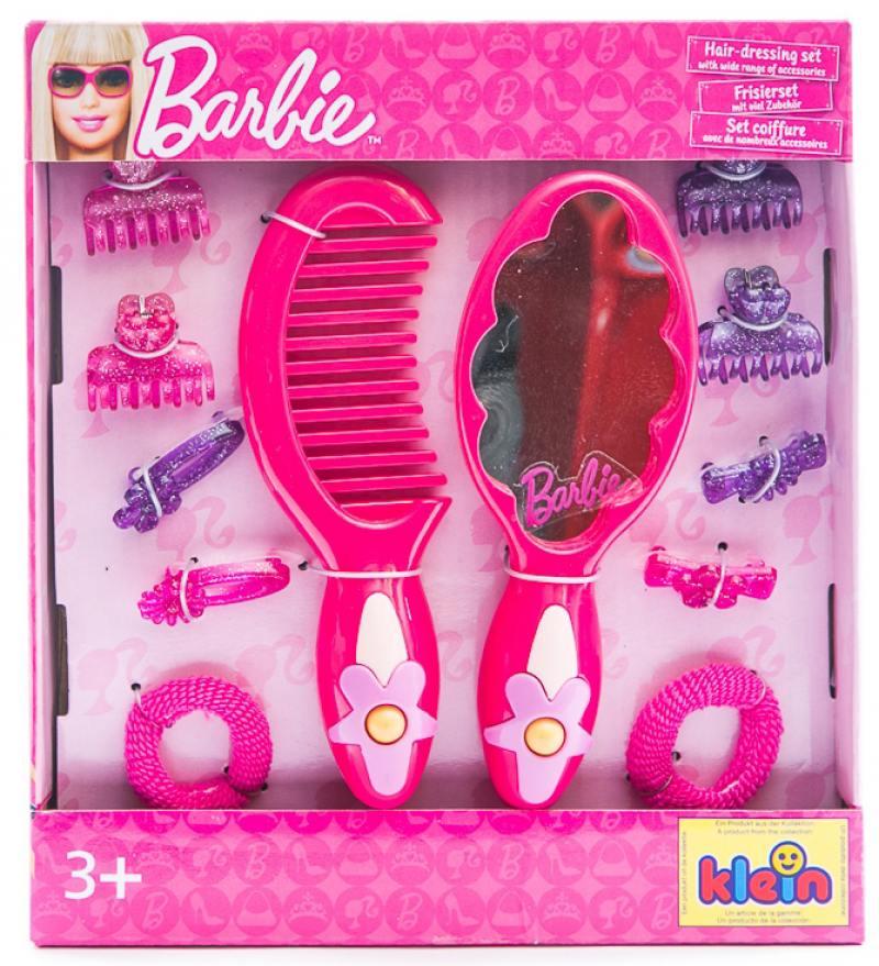 Игровой набор Klein Barbie 12 предметов 5704 klein игровой набор bosch кухонный центр стайл 18 предметов