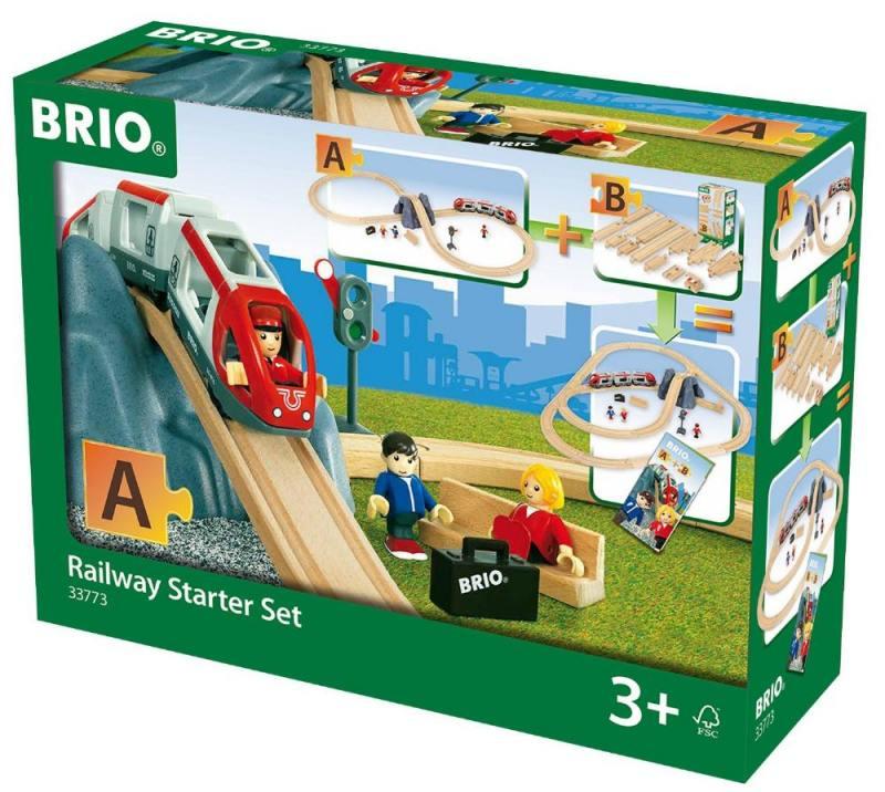 Железная дорога Brio: стартовый набор А стартовый пакет киевстар