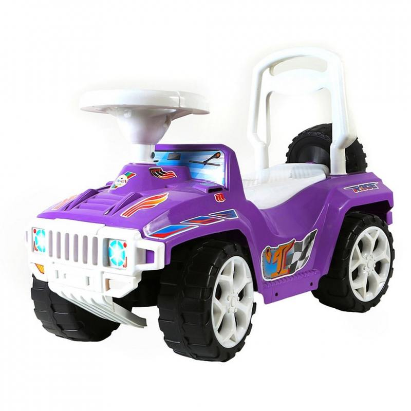 Каталка-машинка R-Toys Race Mini Formula 1 пластик от 10 месяцев фиолетовый ОР419 тюбинги r toys snow auto mini