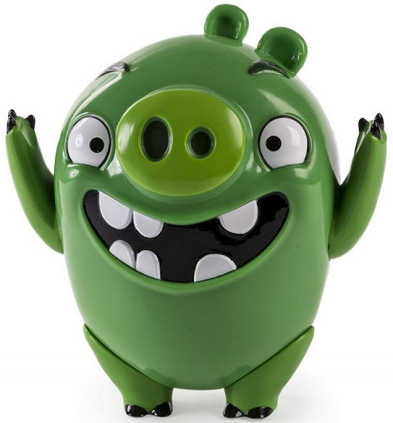 Интерактивная игрушка Angry Birds Говорящая птица The Pigs 20073091