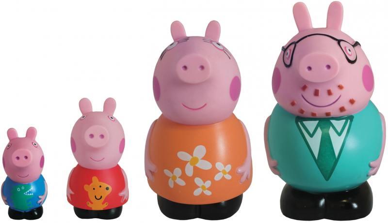 Набор Семья Пеппы Peppa Pig peppa pig набор ракета пеппы неваляшки peppa pig 28796