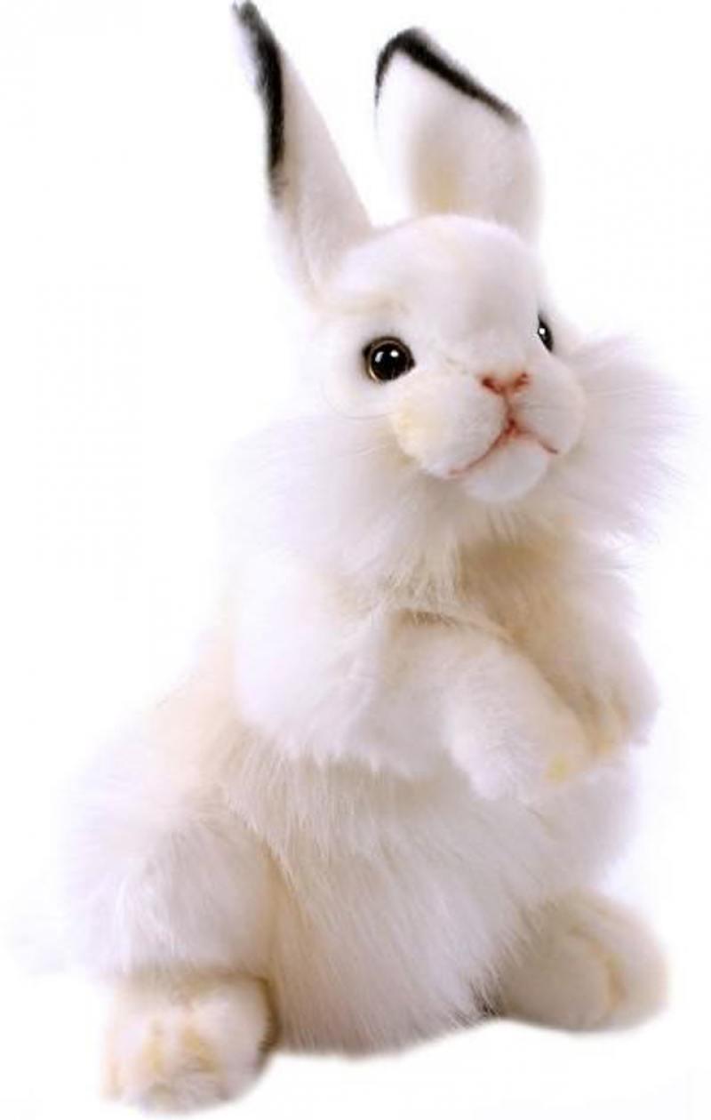 Мягкая игрушка Hansa Белый кролик, 32 см 3313 hansa бобёр 32 см