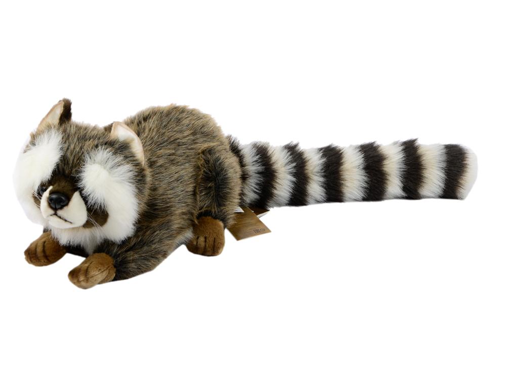 Мягкая игрушка Hansa Енот лежащий 74 см 2312 цены онлайн