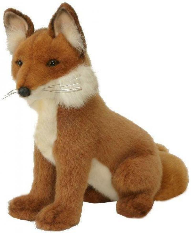 Мягкая игрушка Hansa Лиса, 28 см 2923 hansa мягкая игрушка лиса