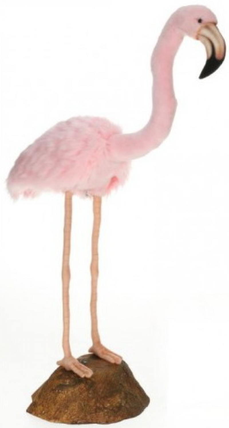 Мягкая игрушка Hansa Розовый фламинго, 80 см 6771