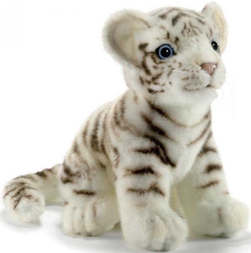 Мягкая игрушка Hansa Тигренок белый, 18 см 3420 hansa мягкая игрушка тигренок