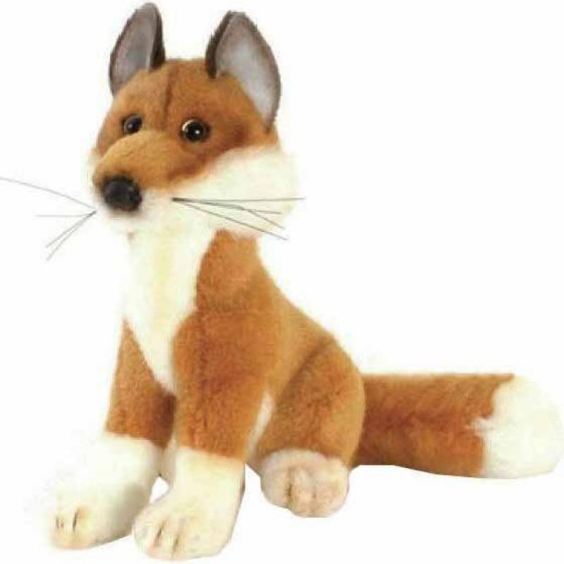 Мягкая игрушка Hansa Лиса, 19 см 2826 мягкие игрушки hansa лиса лежащая 45 см