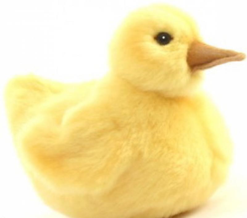 Мягкая игрушка Hansa Утенок дикой утки, 14 см 3078