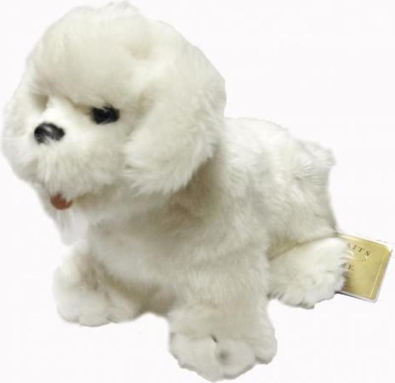 Мягкая игрушка Hansa Собака породы Бишон Фризе, 30 см 6317 мягкие игрушки hansa собака породы бишон фризе 30 см