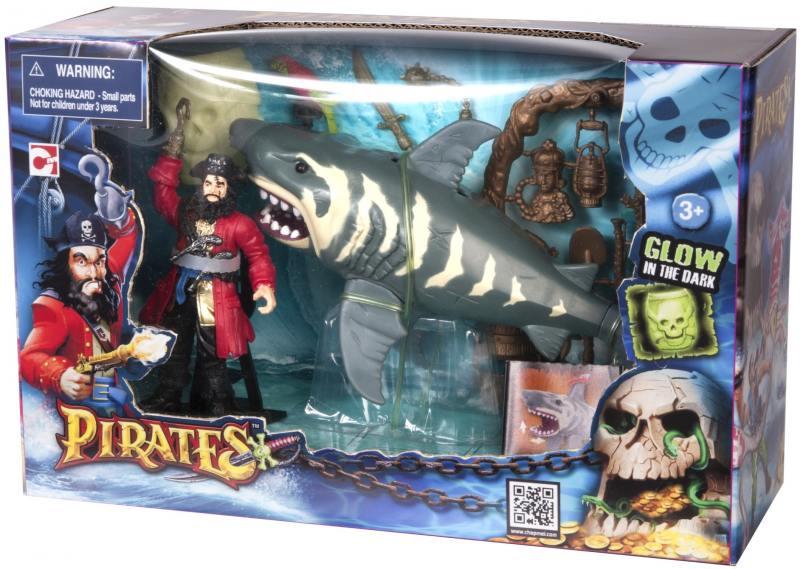 Игровой набор Chap Mei ПИРАТЫ. Нападение акулы 505202-1 ковры seintex toyota camry 2012 высокий борт