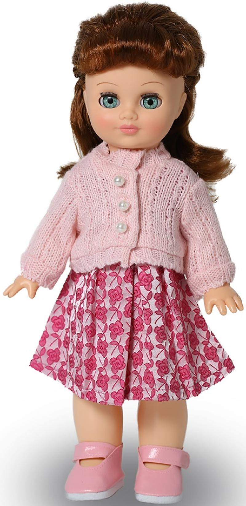 Кукла ВЕСНА Элла 1 (озвученная) baby kids girl solid dress ruffles short sleeve demin dresses cute rabbit bag outfits girls summer casual clothes