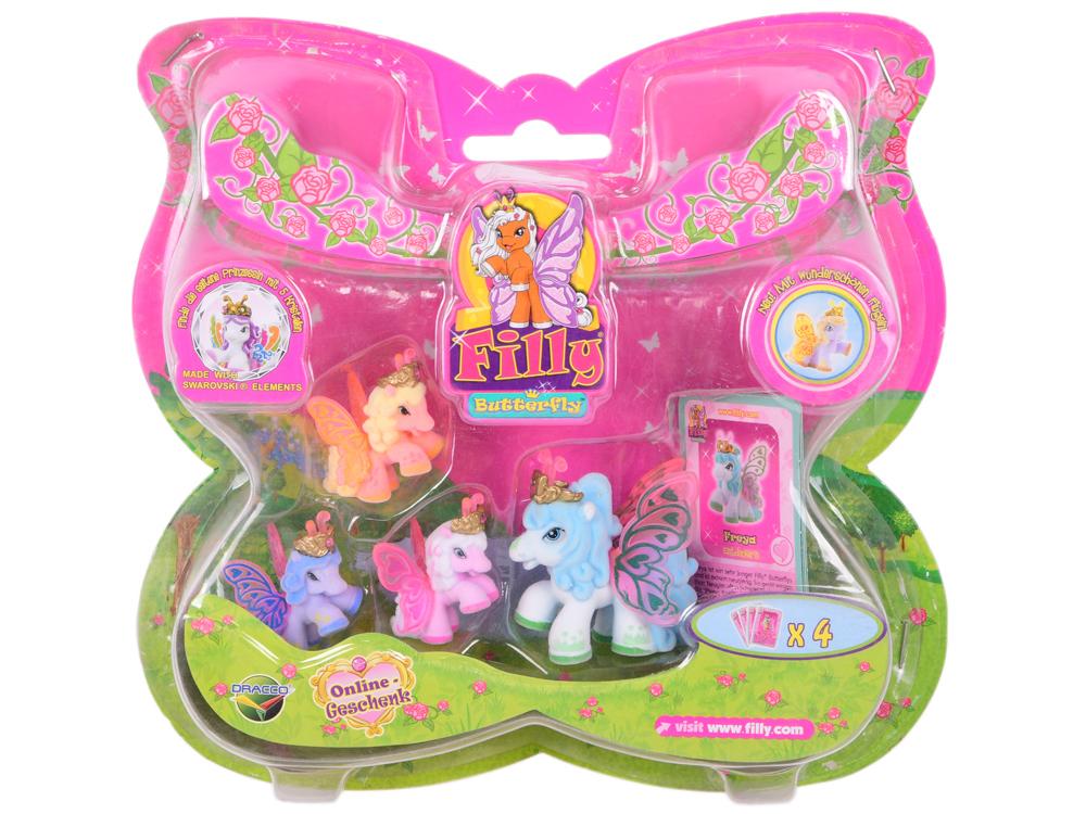 Игровой набор Filly Бабочки Волшебная семья,в асс-те набор колокольчиков 3шт 13х4х18см в асс те