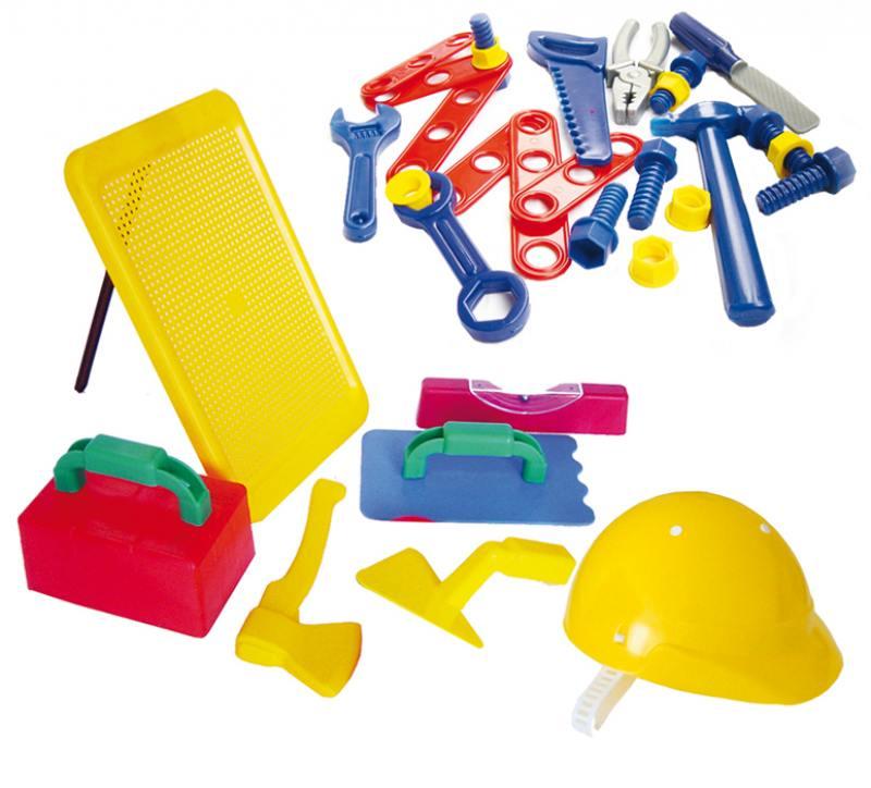 Игровой набор Совтехстром Строитель №3 в сумке ролевые игры совтехстром игровой набор фрукты