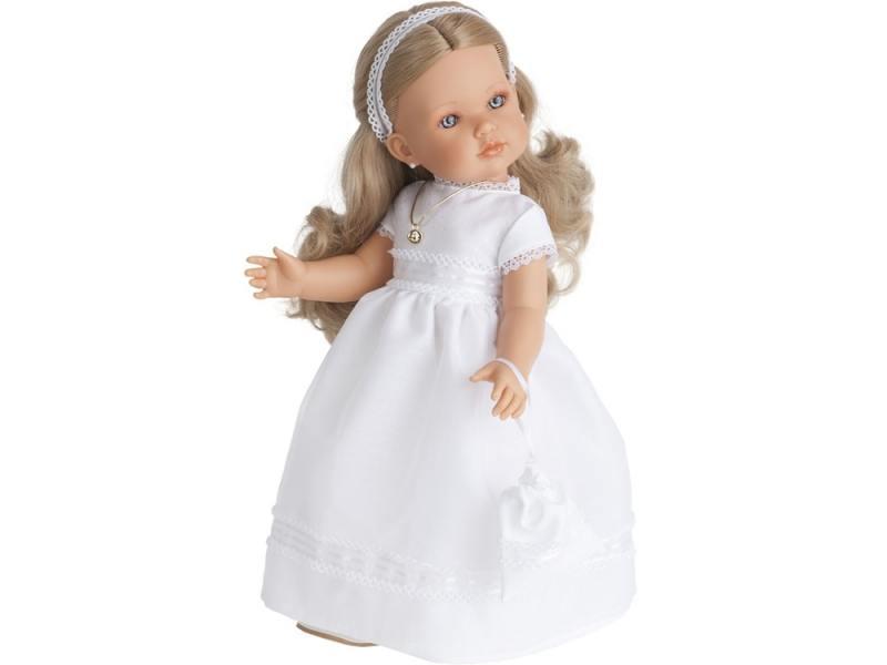 Кукла Munecas Antonio Juan Белла Первое причастие блондинка 45 см munecas antonio juan munecas antonio juan кукла аделина блондинка 55 см