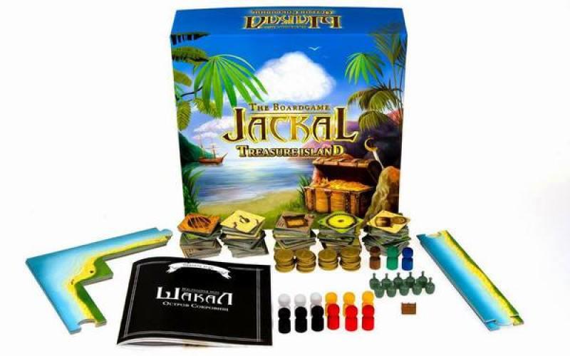 Настольная игра семейная Magellan Шакал: остров сокровищ MAG00404 magellan настольная игра ратуки