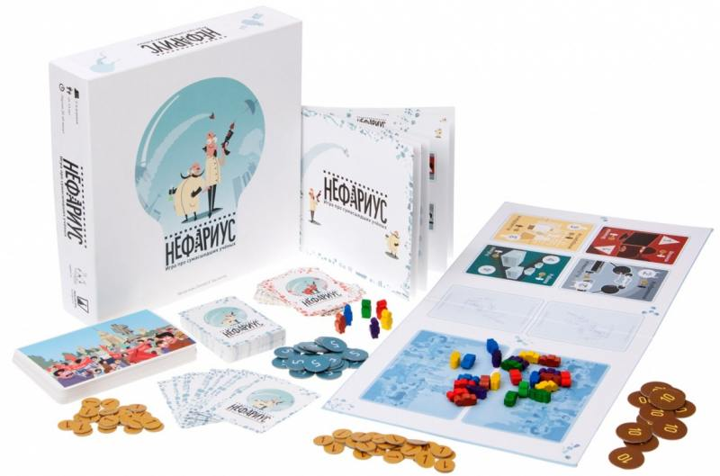 Настольная игра семейная Magellan Нефариус MAG00977 magellan настольная игра ратуки