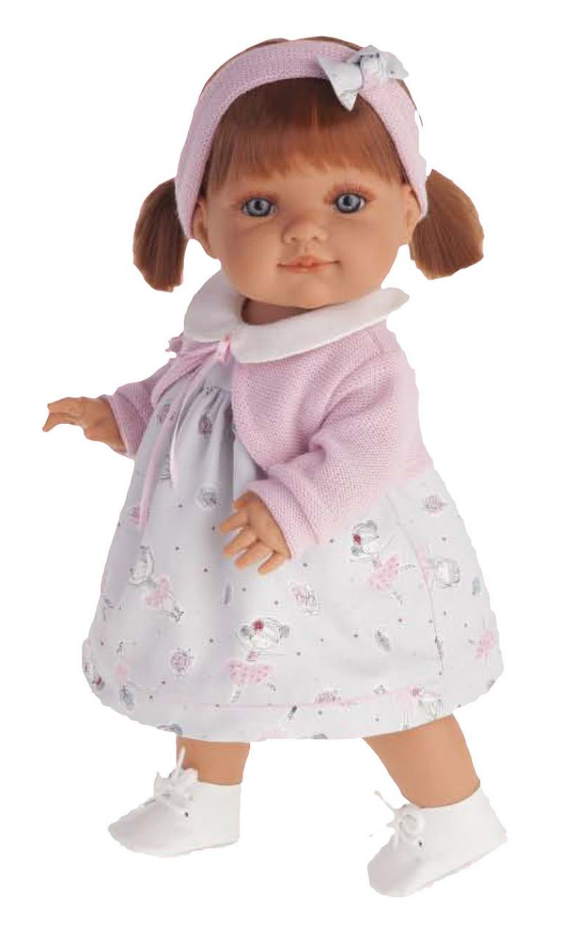 Кукла Munecas Antonio Juan Эвелина 38 см 2260P antonio juan кукла эвелина 38см