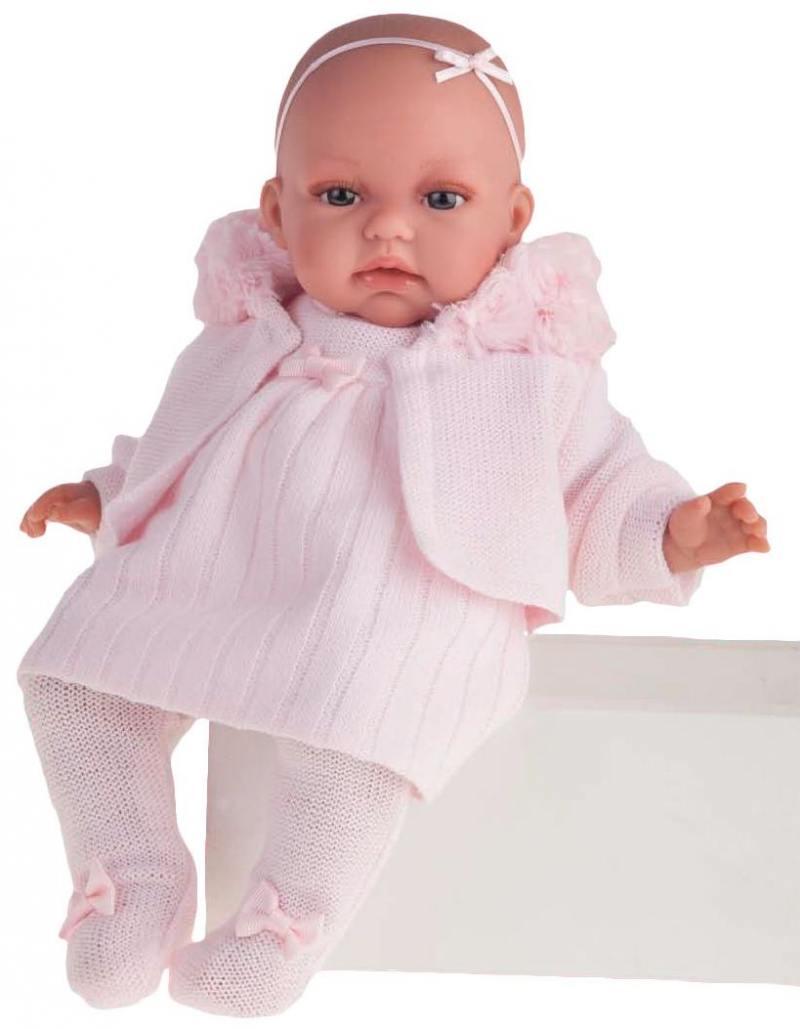 Кукла Munecas Antonio Juan Стефания 34 см со звуком 7027P