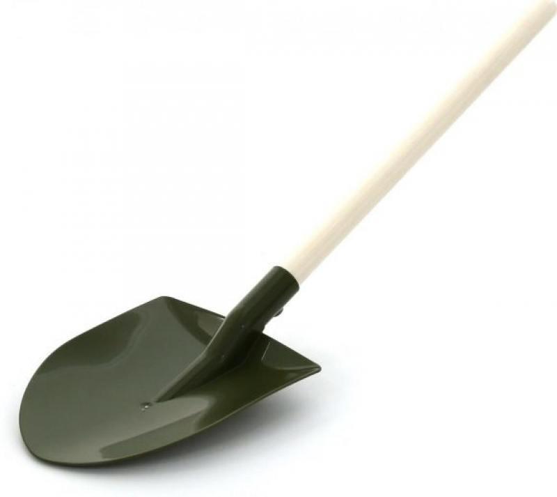 Лопата сапёрная деревянный черенок 54,5 см