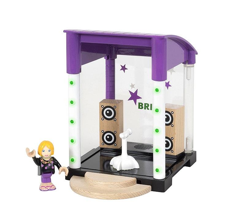 Игровой набор Brio Караоке-клуб,звук,6 предметов набор игровой с американскими горками brio 33730