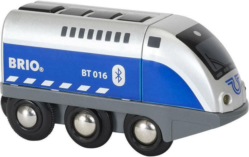 Паровозик Brio управляемый с мобильного приложения,свет,звук brio игрушка мой первый паровозик
