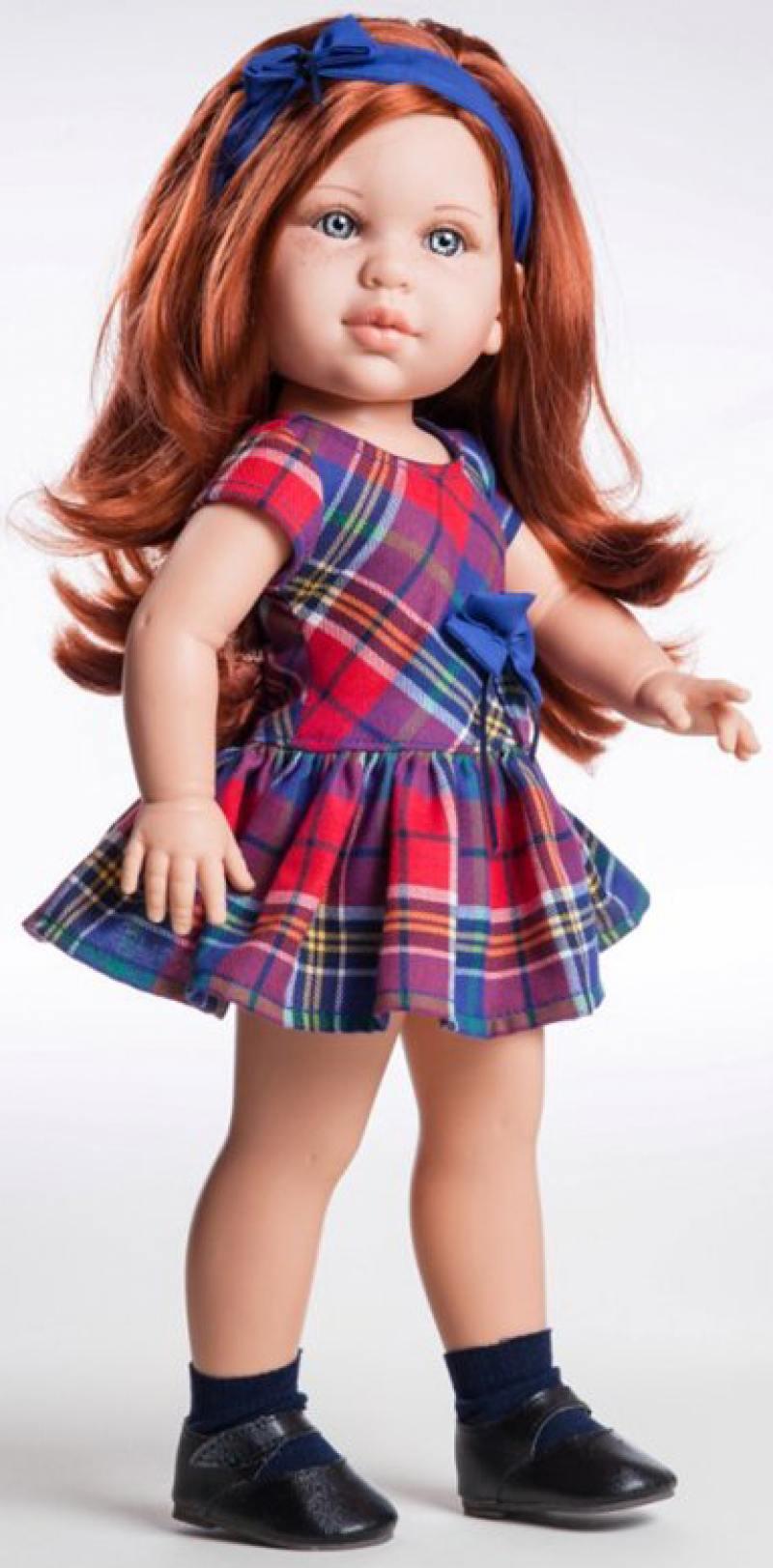 Кукла Paola Reina Бекки 42 см 06007 paola reina горди без одежды 34 см 34021