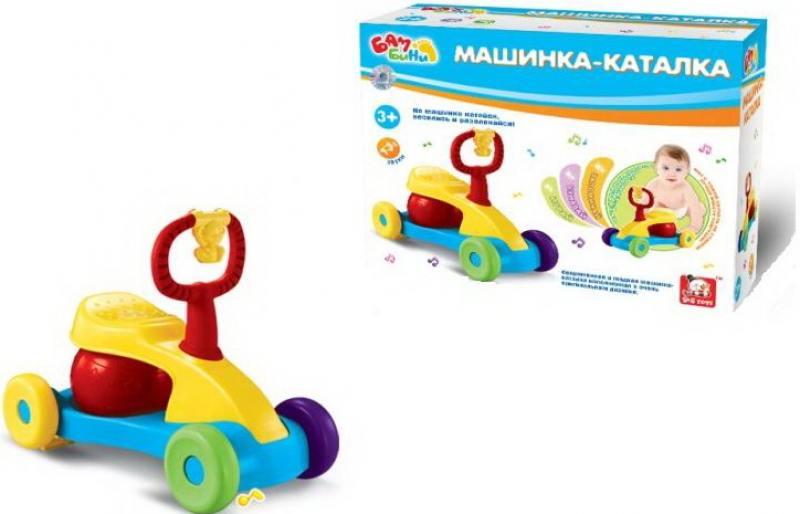 Каталка-мотоцикл S+S BAMBINI со звуком каталка мотоцикл s s toys bambini со звуком разноцветный от 3 лет пластик