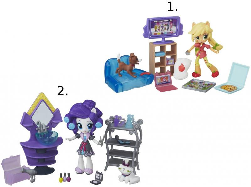 Игрушка Hasbro My Little Pony Equestria Girls мини-куклы, в ассорт.B4910 куклы my little pony equestria girls