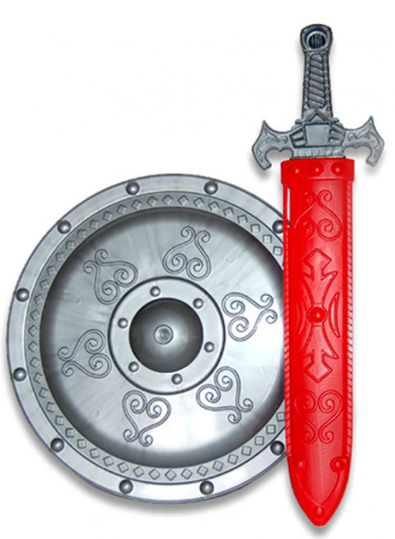 Набор Завод Огонек Доспехи витязя красный серебристый 4603283009720 С-1287 игровой набор огонек доспехи витязя