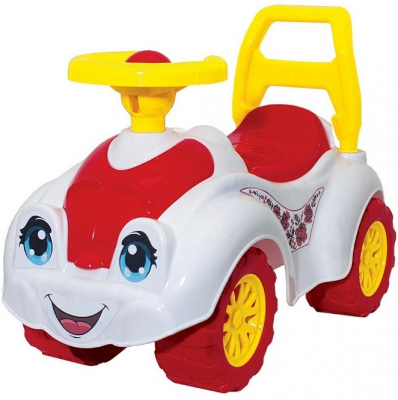 Каталка-машинка Rich Toys Zoo Animal Planet Заяц пластик до 1 года на колесах разноцветный