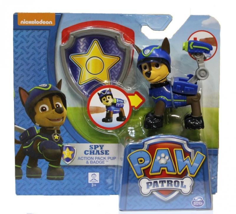 Фигурка Paw Patrol Chase: спасатель с рюкзаком-трансформером 20068609 игровой набор paw patrol спасатель с рюкзаком трансформером новые герои в ассортименте