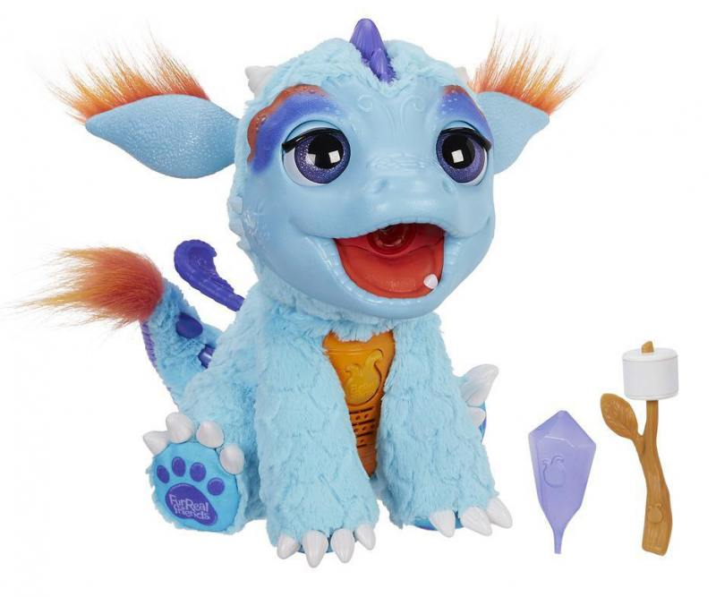 Интерактивная игрушка Hasbro Милый дракоша от 4 лет голубой B5142