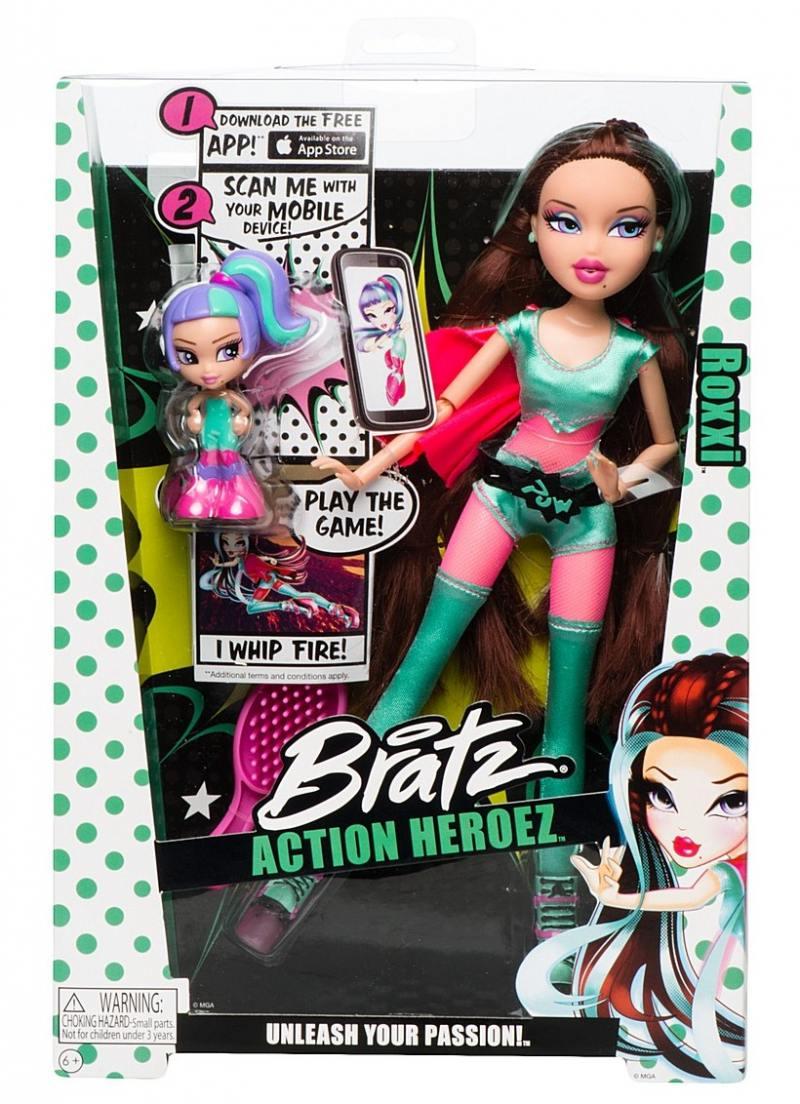 Кукла Bratz Супергерои Рокси 29 см 525653 bratz bratzillaz магическое кафе