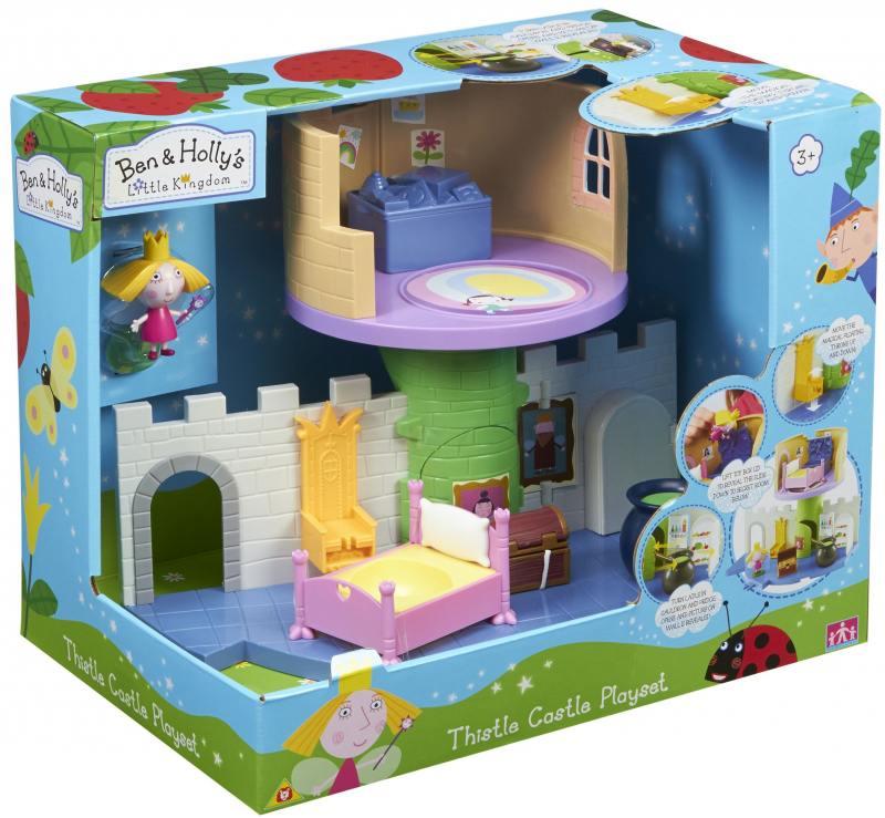 """Игровой набор РОСМЭН из серии Ben&Holly """"Волшебный замок"""" с фигуркой Холли"""