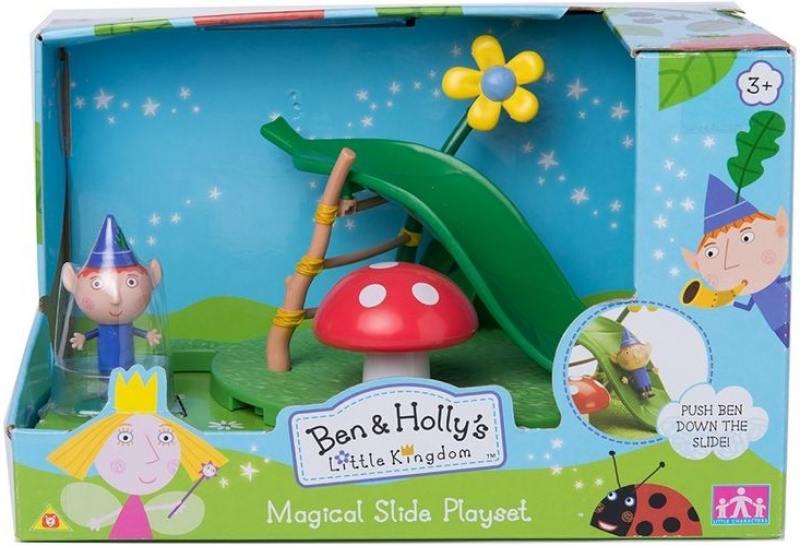 Игровой набор РОСМЭН из серии Ben&Holly игровая площадка: горка с фигуркой Бена