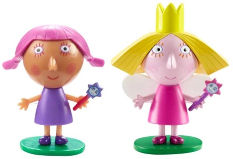 Игровой набор РОСМЭН из серии Ben&Holly с двумя фигурками: Холли и Вайолет