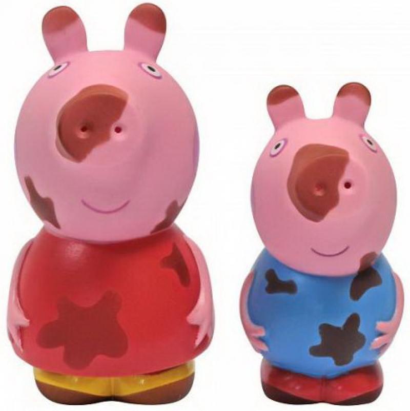 Игровой набор Peppa Pig Чистюля или грязнуля 2 предмета
