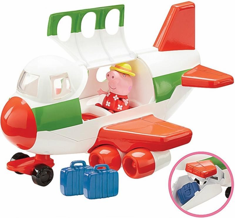 Игровой набор Peppa Pig Самолет peppa pig игровой набор самолет peppa pig 30630
