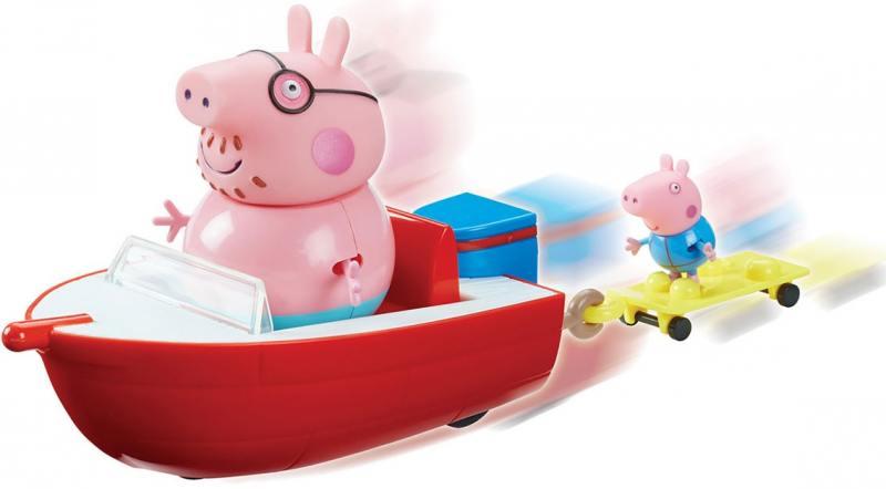 Игровой набор Peppa Pig Моторная лодка peppa pig транспорт 01565