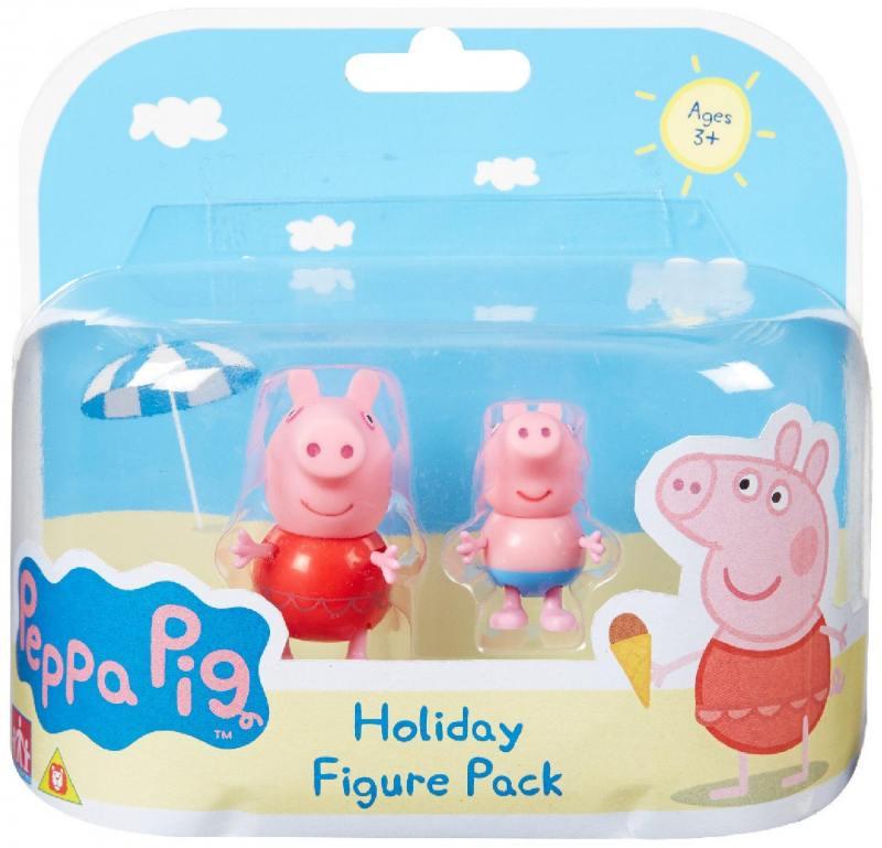 Игровой набор Peppa Pig Пеппа на каникулах 30627 peppa pig игровой набор самолет peppa pig 30630