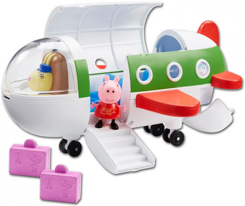 Игровой набор Peppa Pig Самолет с фигуркой Пеппы peppa pig игровой набор космический корабль пеппы