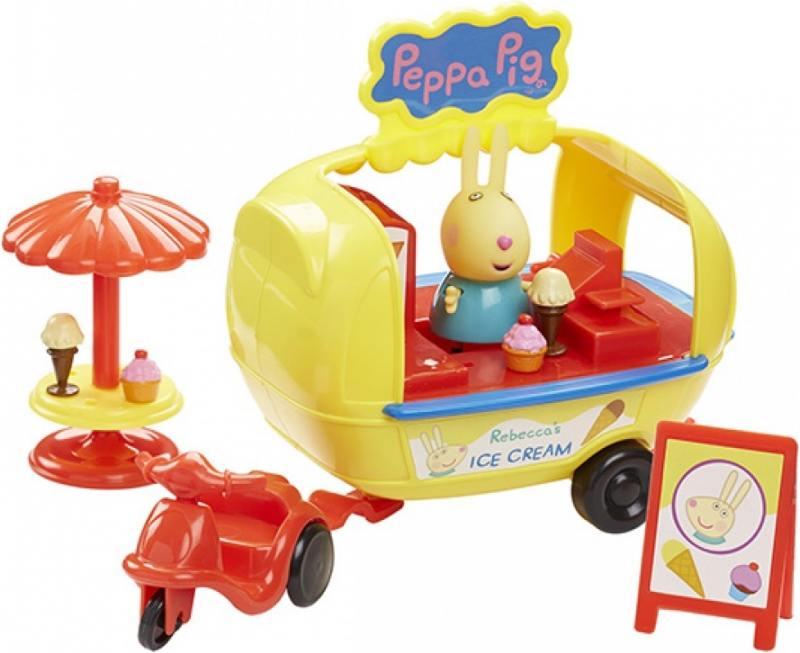 Игровой набор Peppa Pig Кафе-мороженое Ребекки набор игровой peppa pig 10 см