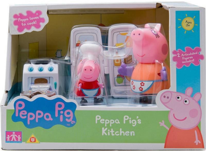 Игровой набор Peppa Pig Кухня Пеппы peppa pig игровой набор дом пеппы с садом 31611