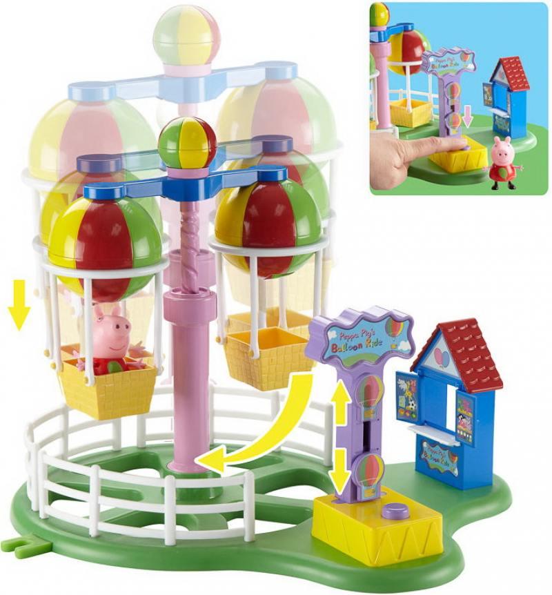 Игровой набор Peppa Pig Луна Парк набор игровой peppa pig 10 см