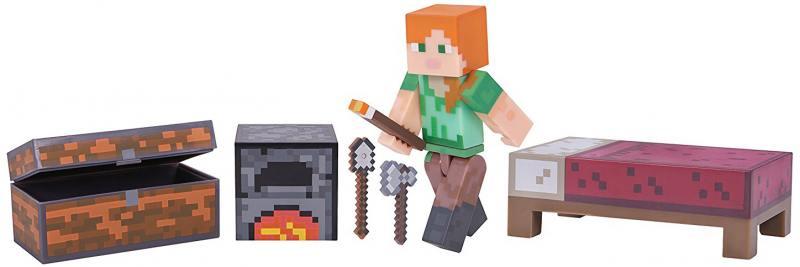 цена на Игровой набор Minecraft Набор для выживания 4 предм.,24х21х5см,блист.