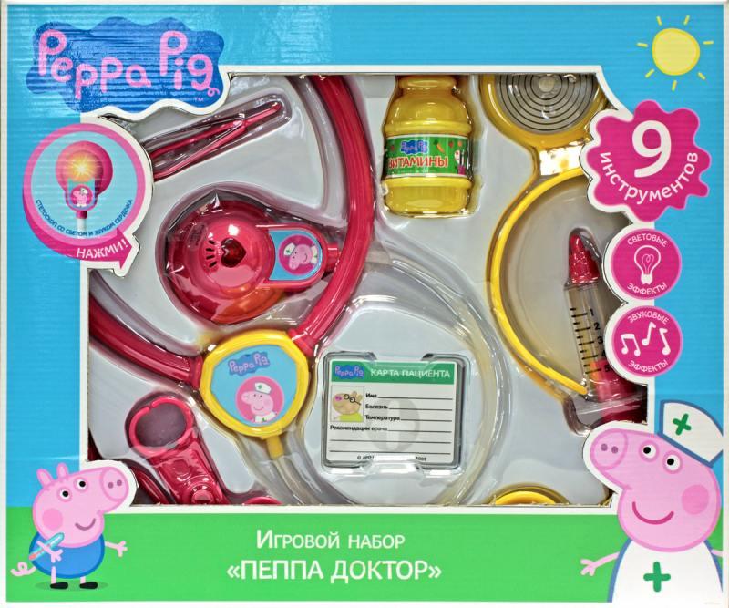 Игровой набор Peppa Pig Пеппа-доктор игровой набор peppa pig пеппа в автомобиле
