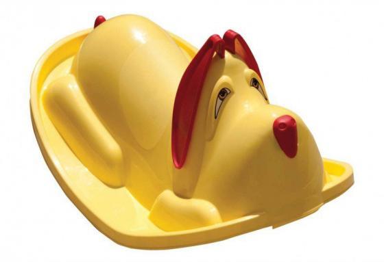 Качалка R-Toys Собачка цв. желтый желтый цв 3022