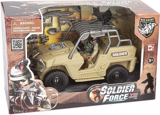 Игровой набор CHAP MEI Армейский внедорожник 521064-2 игровые наборы chap mei игровой набор soldier force армейский внедорожник