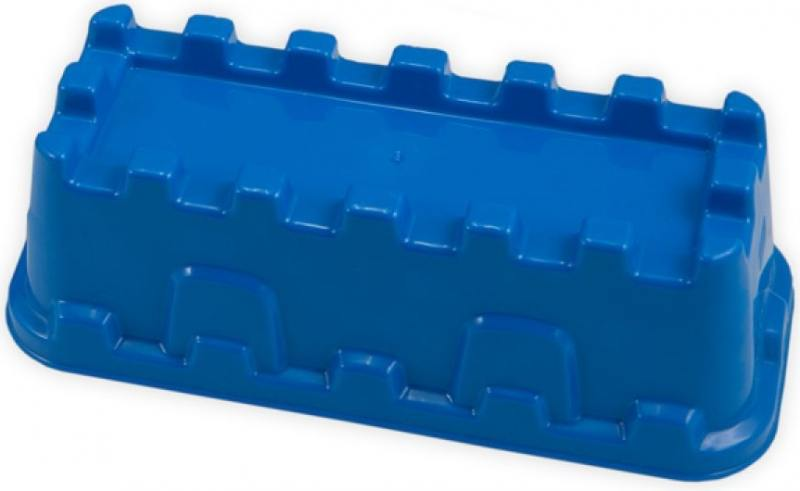 Купить Формочка для песка Spielstabil Крепостная стена, синяя 7428, Игрушки